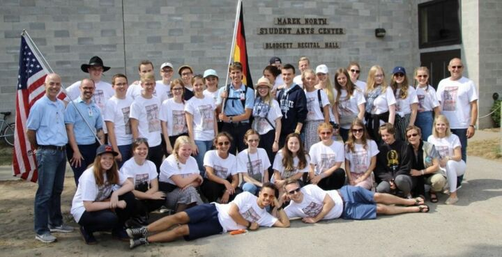 Die Theatergruppe der KKS im Blue Lake Fine Arts Camp, MI/USA (2018)
