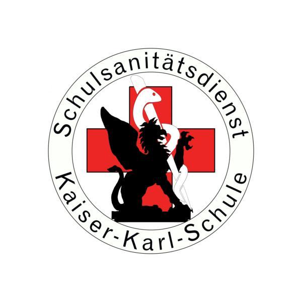 Schulsanitäter logo  Schulsanitätsdienst - Willkommen an der Kaiser-Karl-Schule